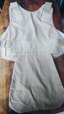 Second Chance Body Armor Bullet Resistant Vest Tan Size Male 1714 Adjustable