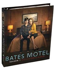 Bates Motel Trading Card Binder Album with 2 Promo Cards