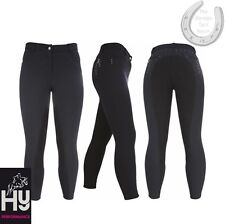 "HyPerformance Sandown Ladies Breeches – Charcoal 28"" – Swarovski Crystals – XMAS"