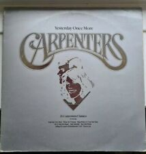 "THE CARPENTERS  - ALL THE HITS. - ORIGINAL 12"" UK DOUBLE LP"