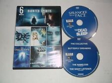 6 Movies: Haunted Spirits (DVD, 2012, 2-Disc) Nameless, Dead Sleep, Collective