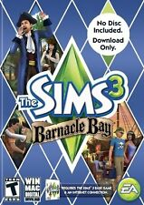 THE SIMS 3 BARNACLE BAY ADD-ON EXPANSION (CD KEY-DOWNLOAD ONLY-NO DISC) PC MAC