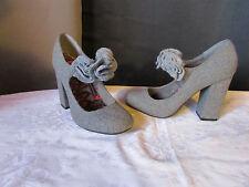 Zapatos de tacón de mujer de color principal gris talla 40  39d950cd7566