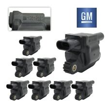 8 GM Ignition Coils For LS2 LS4 LS7 LS9 Cadillac Chevrolet GMC Buick CTS 05-16