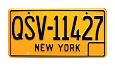 Entourage | '65 Lincoln Continental | QSV-11427 | STAMPED Prop License Plate