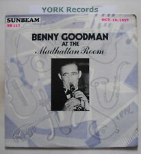 BENNY GOODMAN - At The Madhattan Room 16.10.37 - Ex LP