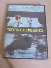 Yojimbo (DVD, 1999, Criterion Collection) Kurosawa OOP! Rare!