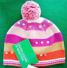 NWT United Colors of Benetton Warm Wool Ski Hat Ladies