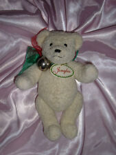 "North American Bear JINGLES 1991 White Christmas 10"" Plush Stuffed Animal"