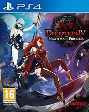 Deception IV - The Nightmare Princess For PAL PS4 (New & Sealed)