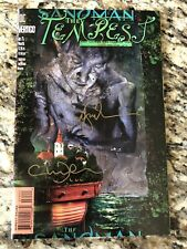 Sandman #75 (1996) Last Issue NM/NM+ Signed by Neil Gaiman and Charles Vess