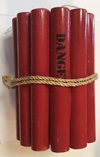 Cocktail Glas Halter Dynamite Deko Holz 1 Stück