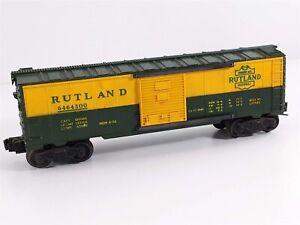 Lionel Postwar 6464-300 Rutland 1956 Heat Stamped Lettering IIB Boxcar O Gauge