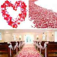 Rose Petals Simulation Wedding Party Table Supplies Confetti Decorations 100pcs