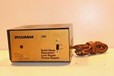 Sylvania SYL-PS-3AR Solid State Regulated Low Ripple Power Supply 13.8V-3AMP