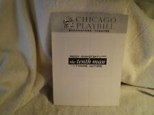 """The Tenth Man"", Blackstone Theatre, April 29, 1962, Chicago Playbill"