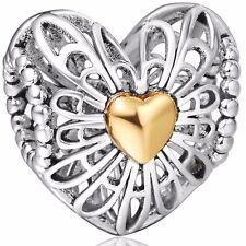 Wholesale CZ Enamel European Beads Charms Fit 925 sterling Silver Snake Bracelet