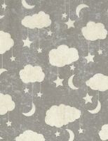 Timeless Treasures Cloud Mobile 100% cotton fabric by the yard