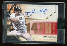 New listing 2020 Topps Luminaries Jeff Bagwell Hit Kings Auto Autograph #03/10 Astros
