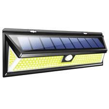 180 LED Solar PIR Motion Sensor Wall Spot Light Outdoor Garden Lamp Waterproof