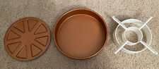 New listing Copper Chef Perfect Cake Pan - 9 X 9