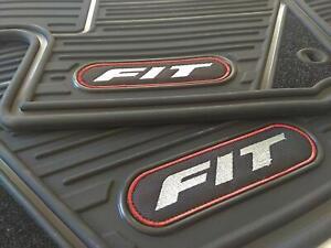 Set of all weather OEM HONDA FIT 2015-2020 Floor Mats Genuine
