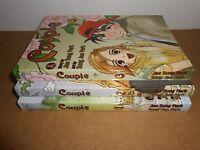 Couple Book 1 2 3 by Jae Sung Park CPM Manhwa Manga Book Lot in English