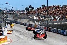 Gilles Villeneuve Ferrari 312 T4 USA West Grand Prix 1979 Photograph 7