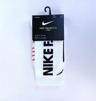 Nike Performance FC Graphic Crew Socken Weiß White Scarpety Herren SX7237-100