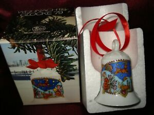 Hutschenreuther Weihnachtsglocke 1979 mit bunter OVP / u.a. angeboten
