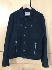 e1c05619 **SALE** Balmain Exclusive Distressed Black Denim Jean Jacket