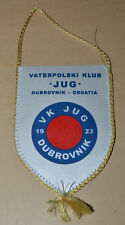 JUG DUBROVNIK Croatia Waterpolo Club pennant small flag vintage Rare
