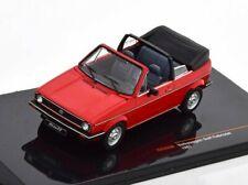 VW Golf I Cabriolet 1981 RedCLC353N  IXO 1:43  New in a box!