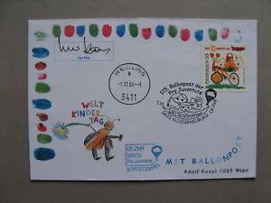 AUSTRIA, ballooncover Pro Juventute 2004, World Children's Day