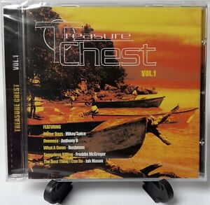 Treasure Chest Vol 1 - Various Artists CD (JET STAR)  CRCD 3042