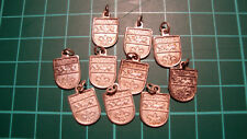 Roermond 60s 60's Dutch chain hanger heraldiek ketting 10pcs