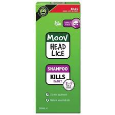 MOOV HEAD LICE SHAMPOO FAMILY PACK 500ML 2 IN 1 KILLS & CLEANS