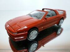 MADE IN CHINA SUPTA  TOYOTA SUPRA 3.0i TURBO 1993 - RED 1:43 - VERY GOOD - 2/3