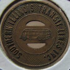1947 Southern Illinois Transit Lines Inc. Pana, IL Transit Bus Token - Ill.