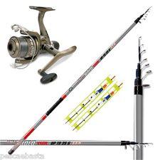 Kit combo da pesca tutto fare con canna mulinello con filo e lenze pronte PEB587