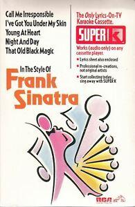 Frank Sinatra RCA Super K Karaoke (1993)