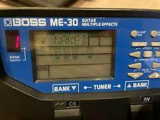 BOSS ME-30 Guitar Multi Effect Pedal