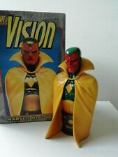 Marvel Comics Bowen Vengadores la visión Mini estatua/Busto Con Caja