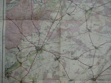 Landkarte Berlin Blatt 3 Bernau Landesaufnahme 1914 Werneuchen Biesenthal Lanke