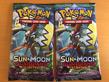 Sun & Moon Guardians Rising Sealed Booster Packets Packs x2 Pokemon TCG