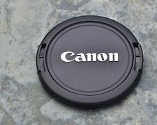 Canon EOS E 58mm Snap-On Front Lens Cap Chrome Logo 18-55 55-250 75-300 (#1448)