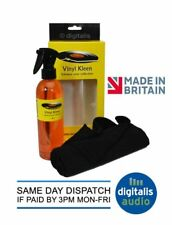 Vinyl Kleen Record Cleaning Fluid 250ml Spray and Washable Microfibre Cloth