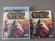 PLAYSTATION 3 PS3   WARRIORS LEGENDS OF TROY  COMPLET EN FRANCAIS
