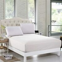 500 Thread Count Luxury 100% Egyptian Cotton Fitted Sheet 40cm Extra Deep