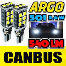 AUDI A4 S4 B6 00-04 BRIGHT CANBUS LED SIDE LIGHT 501 W5W T10 15 SMD WHITE BULBS
